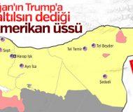 Suriye'de boşaltılacak ABD üsleri