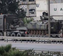 Suriye sınırındaki birliklere 80 paletli gönderildi