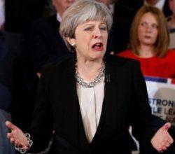 Theresa May'in ilk seçim vaadi