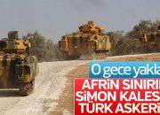 Türk askeri PYD'nin kontrolündeki hattı ele geçirdi
