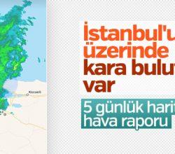 Türkiye genelinde hava sıcaklığı düşecek
