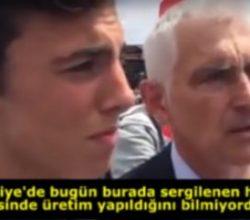 Türkiye'nin yaptığı helikopteri gören Fransızın şaşkınlğı