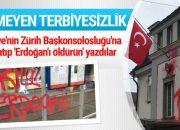 Türkiye'nin Zürih Başkonsolosluğu'na saldırı