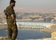 Türkiye suyu kesti teröristler elektriksiz kaldı