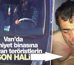 Van'da Emniyet binasına saldıran teröristler yakalandı