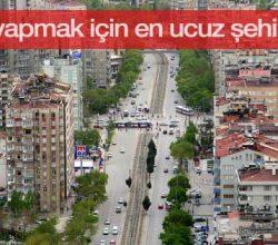 Yatırım yapmak için en ucuz şehir Konya