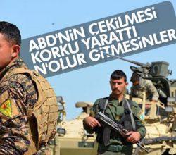 YPG'den Türkiye itirafı: Korkuyoruz