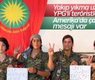YPG'li teröristlerden Amerika'ya mesaj