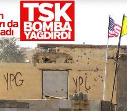 YPG, TSK'dan korkusuna ABD bayrakları asmıştı ama..