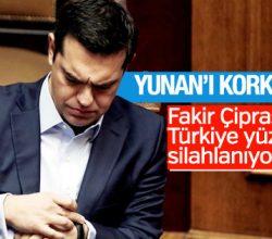 Yunanistan Başbakanı Çipras'tan küstah açıklamalar