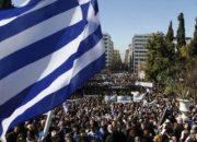 Yunanistan'da memurlar ve işçiler greve gitti