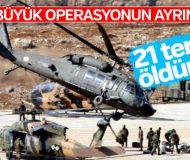 Zap bölgesinde 9 yıl sonra terör operasyonu